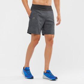 """Salomon XA Shorts 7 """" Herrer, grå/sort"""